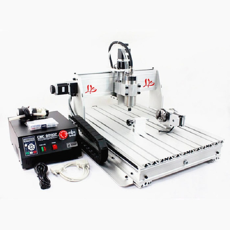 cnc router cnc lathe machine CNC 6040Z-S80 4 axis Engraving machine