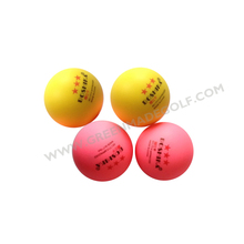 PU foam golf ball, promotional rubber golf stress ball