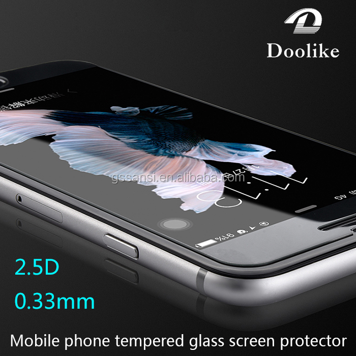 2.5D 9H Tempered Glass Screen Protector Ultra Thin for Iphone 6 6S Plus