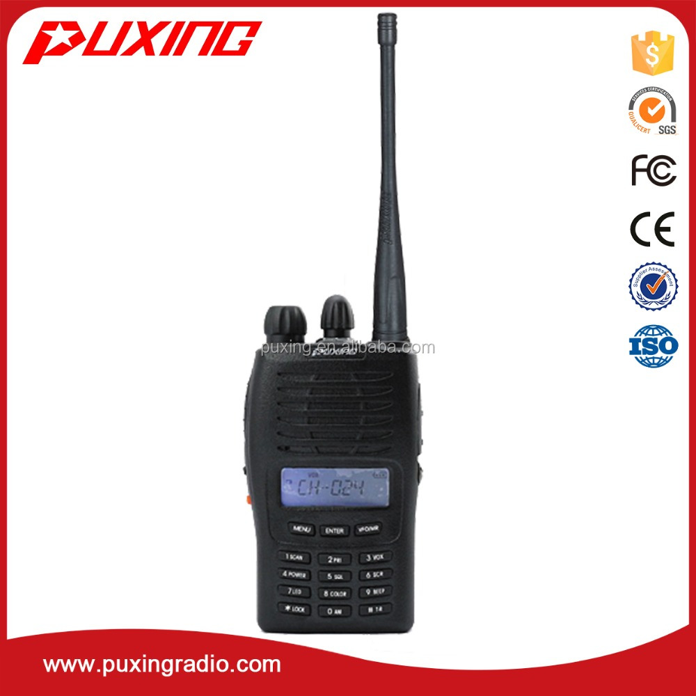 PUXING professional walkie talkie PX-777 radio VOX scrambler frequency reverse 50CTCSS+104DCS
