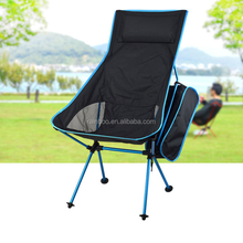 Popular wholesale custom lightweight durable lounge outdoor travel beach fishing folding camping chair