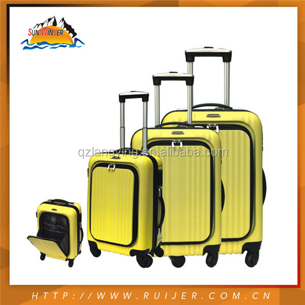 ABS 3 Pcs Set Airplane Hard Shell Luggage Manufacturer