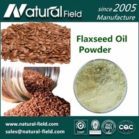 Organic Flaxseed oil Powder for Health-Care Function