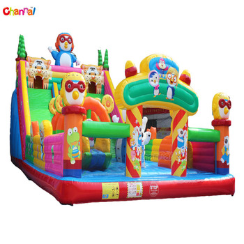 Huge inflatable amusement park equipment inflatable funcity