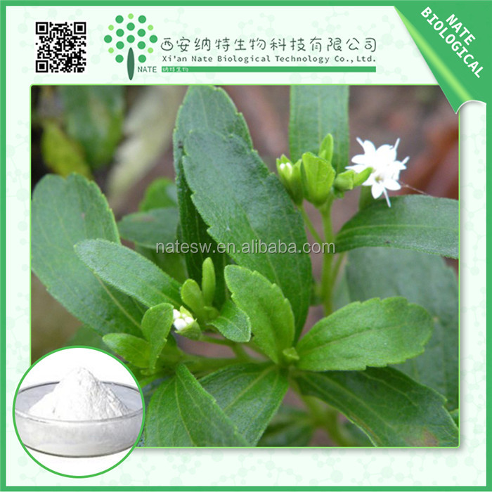 Natural stevia sweeteners powder Stevia Rebaudioside A 98%