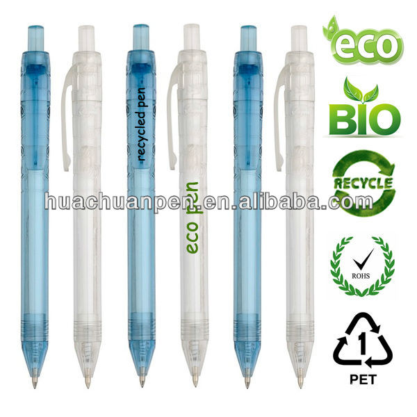 new eco ball pen,PET recycled pen ,promotional ball pen