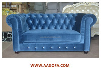 high back antique sofa velvet chesterfield for sale