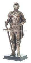 Customize Medieval knight craft for home decoration hot sale