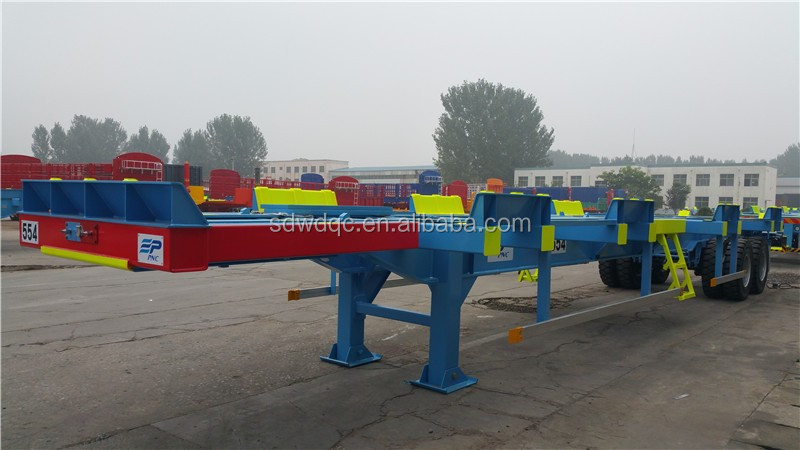 CHINA FACTORY HOT SALES 45ft terminal chassis trailer / container yard chassis