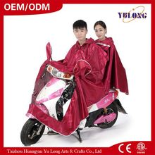 2017 china supplier High quality waterproof double poncho / tpu raw materials