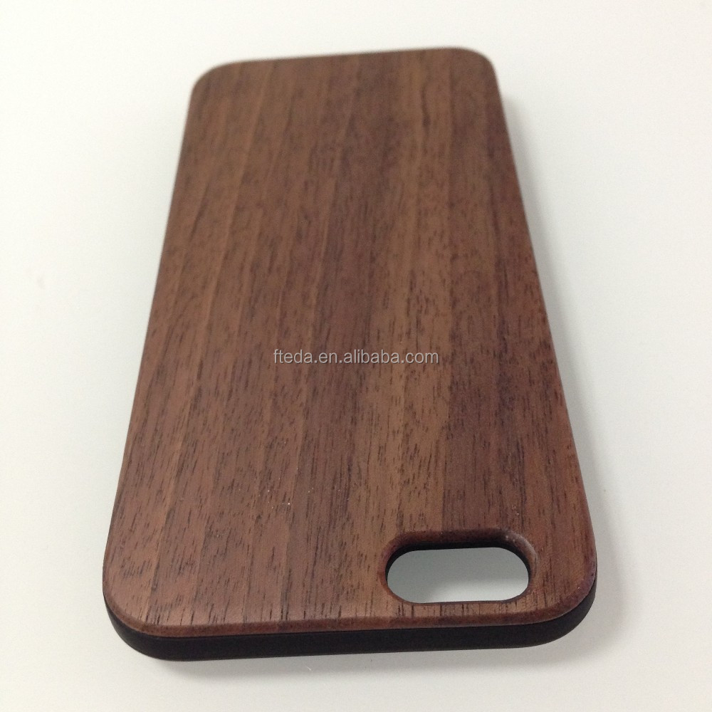New arrival walnut wood Case For iPhone 6 Natural Back 4.7inch Cover For iPhone6 Genuine Wooden Back Cover Phone Case