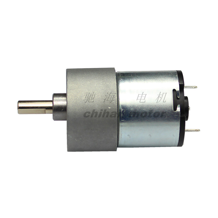 chihai motor CHR-GM37-3429 Carbon Brush large torque dc 12v metal gear reduction motor for climbing robot ,ATM devices