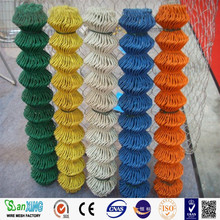 Colorful PVC Coated Diamond Wire Mesh/Aluminum Alloy Chain Link Fence