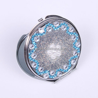 Fashion portable compact mirrors wholesale for gifts