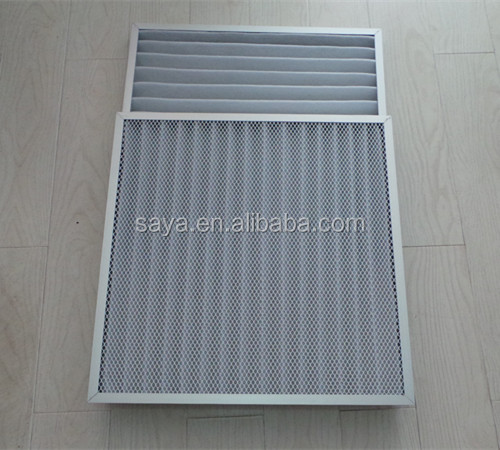 paper frame air filter for air cleaning