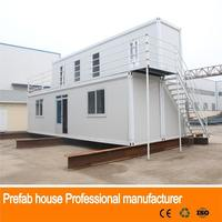 Recycled Prefab Electrical flat pack prefabricated villa modular house 2016 beautiful bungalow house design/plans 3d house plan