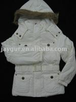 Woman or girls hoody long winter jacket