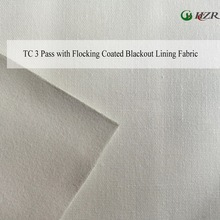 Stocklot curtain lining 3 pass blackout TC fabric 140 cm width