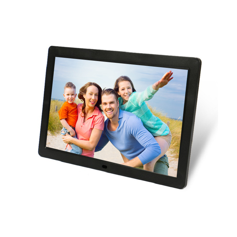 12 ''ABS matériel télécommande lecture vidéo numérique cadre photo - ANKUX Tech Co., Ltd