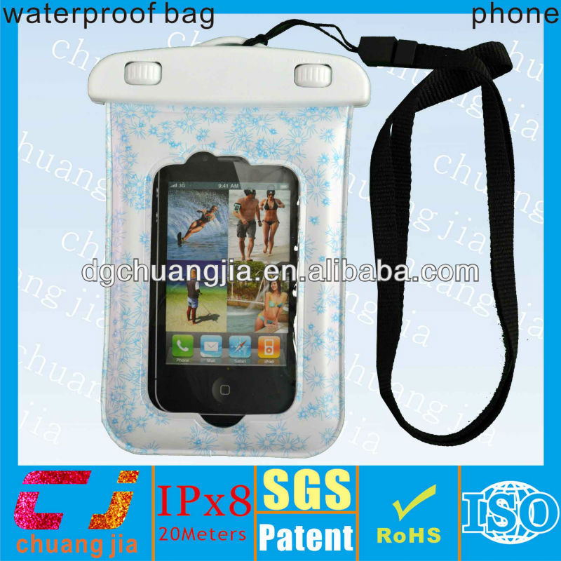 waterproof beach case for diving swimming sport