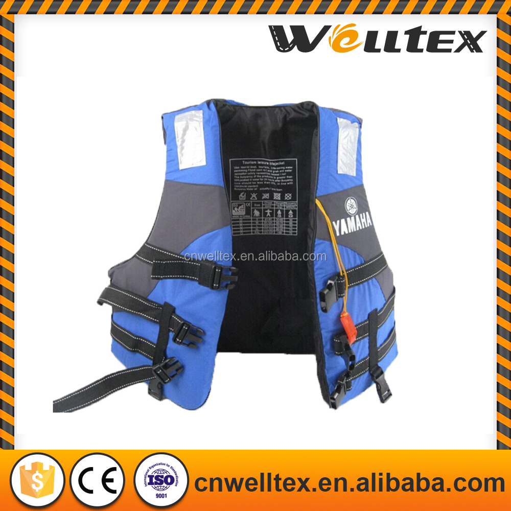 Hot water swim vest life jacket, solas foam life jacket, portable life jacket