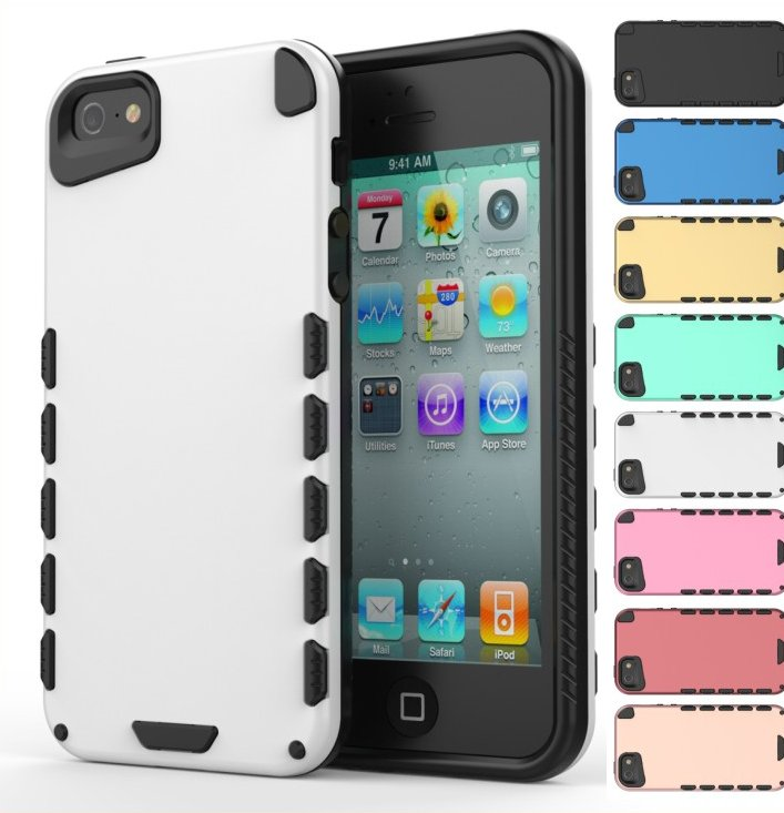 2015 October latest design hybrid mobile phone case for iphone 5