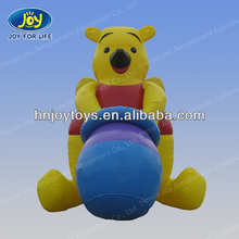 interesting giant inflatable bear advertising ,inflatable bear model
