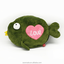 Customize Fish Shaped Love Valentine Pillow