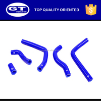 Motorcycle silicone hose kits for Honda CR125 CR 125 RADIATOR SILICONE HOSES 05-08