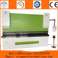 WC67K hydraulic 3mm plate steel press brake,steel press brake machine(WC67K-100/4000)
