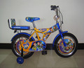 HH-K1670 16inch rocket frame kid bike with cushion and manufacturer price