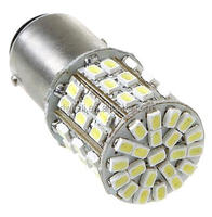1157BAY15D 2057 1206 64 SMD LED Car Tail Brake Stop Turn Light Bulb Lamp White motorcycle flashing brake light