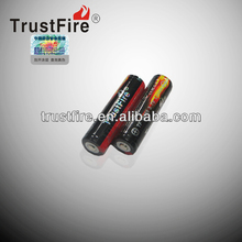 trustfire original factory 18650 li-ion battery rechargeable 3.7V 2400mAh 18650 Li-ion Battery for e cig CE approved