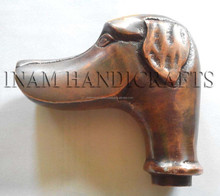 Brass handles for walking sticks, Metal handles for umbrellas and canes