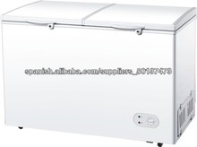 500L Single-temp Style Double Door Chest Freezer with Lock