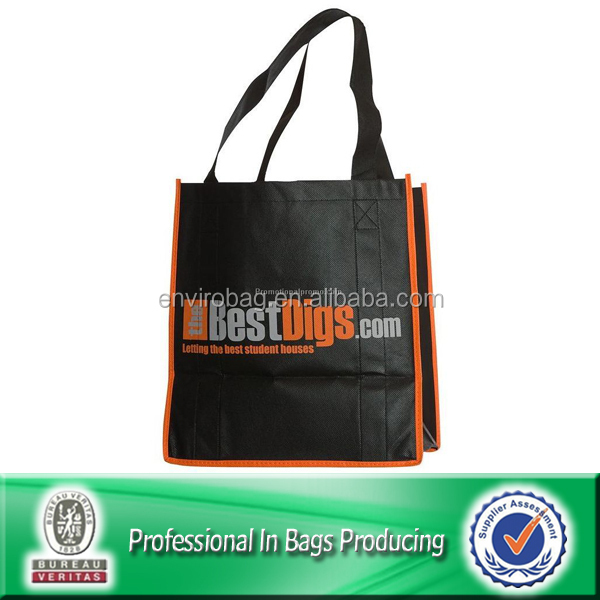 New Selling Good Quality Lead-free Commercial Woven Tote Bag