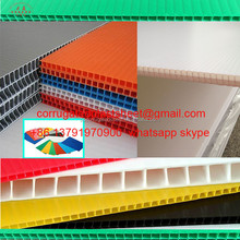 4x8 advertising pp hollow sheet