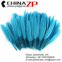 Leading Supplier CHINAZP Wholesale High Quality Top Selling DIY Colored Turquoise Duck Feathers for Sale