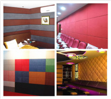 Fabric Covered Acoustic Wall Panels,Sound Proofing and insulation materials