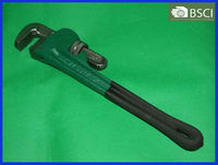 American Type Heavy Duty Pipe Wrench With Dipped Handle