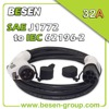 EV Charge SAE j1772 Type 1 Extension Cable