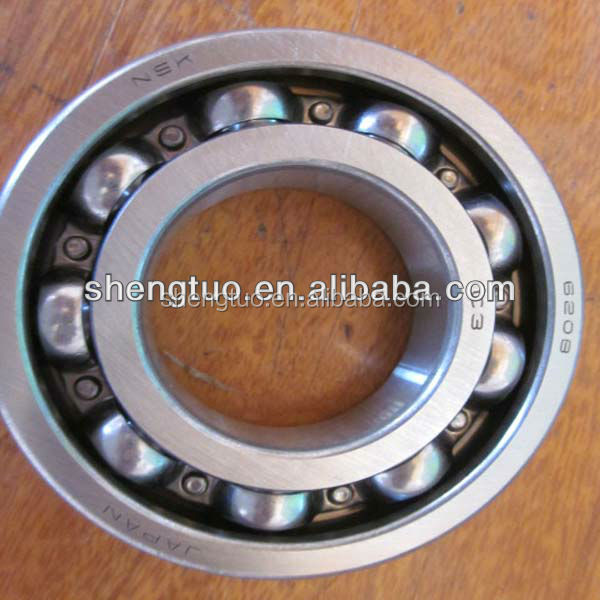 bearing 6208 zz for high temperature deep groove ball bearing for auto gate