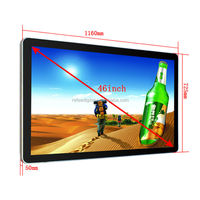 Refee cheap 7inch to 65 inch wall mounted kiosk lcd/ led video display screen /double sided lcd display