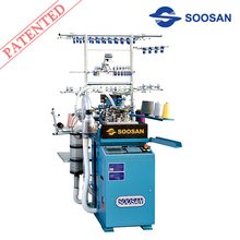 SS - 804 Series Socks Knitting Machine (one,two,three feeder available)