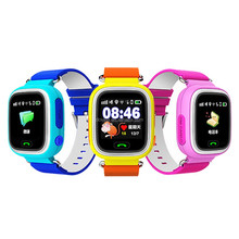 Q70 kids mobile phone watch smart wear GPS watch with touch screen