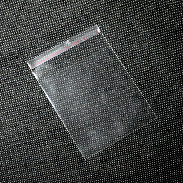 Crystal Clear PolyBag Packaging,Opp Bopp Cellophane Self Adhesive Bag,Strong Self Adhesive Sealing Plastic Opp Bopp Bag Packing