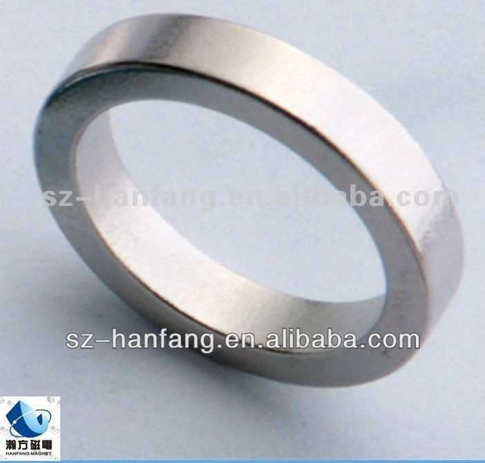 Industrial Neodymium Radial Magnetization Ring Magnet For Sale