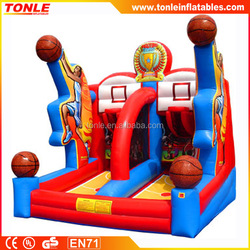 outdoor fun inflatable Full Court Press Basketball game for sale