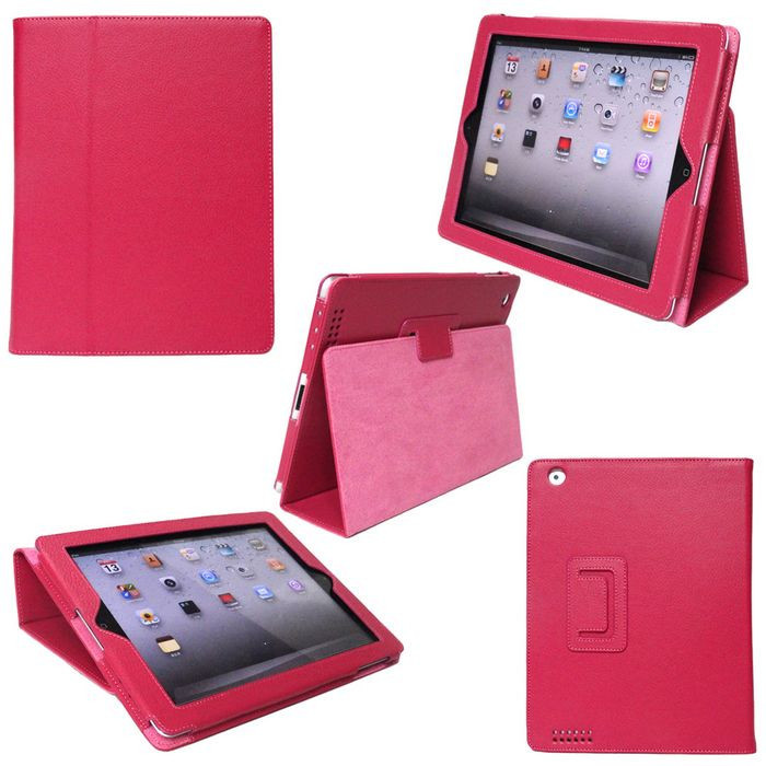 Classical Folio Leather smart Case Cover for IPAD 2 3 4