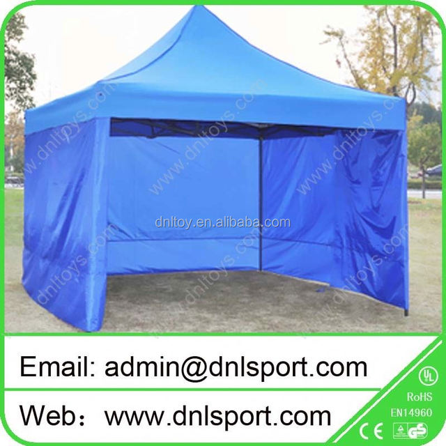 10x10 canopy tent with rolling door for outdoor party event